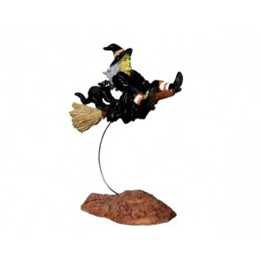 Lemax Out-Of-Control Witch