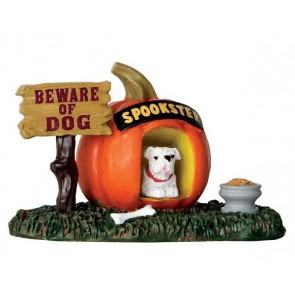 Lemax Pumpkin Doghouse