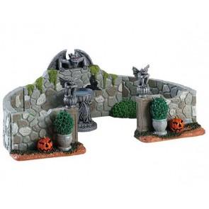 Lemax Grey Gargoyle Gardens