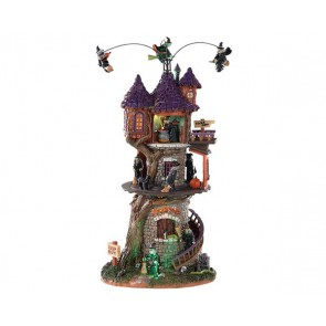 Lemax Witches Tower + 4,5 Volt Adapter