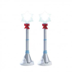 Lemax Snowflake Lamp Post
