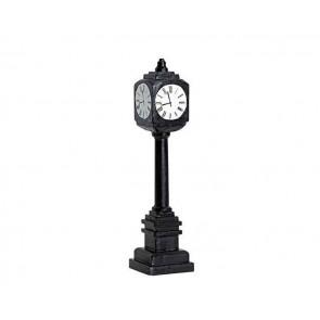 Lemax Street Clock