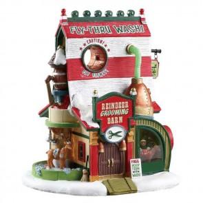 Lemax Reindeer Grooming Barn