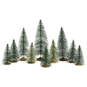 Lemax Needle Pine Trees 10 pc