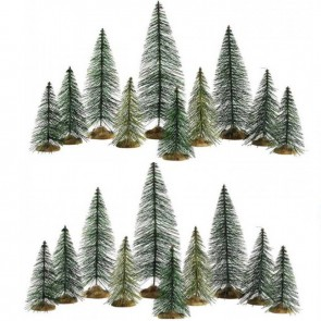 Lemax Needle Pine Trees 20 pc