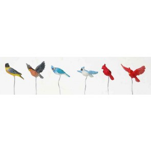 Lemax Assorted Birds