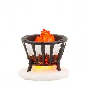Luville Fire Basket Black