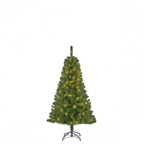 Black Box Trees Charlton kunstkerstboom led groen 80L TIPS 220 - h120xd76cm