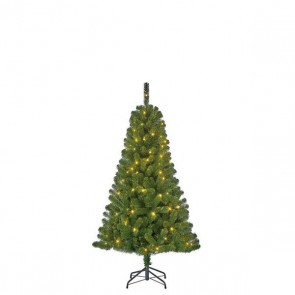Black Box Trees Charlton kunstkerstboom led groen 100L TIPS 340 - h155xd91cm
