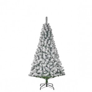 Black Box Trees Millington kunstkerstboom groen frosted TIPS 398 - h185xd109cm