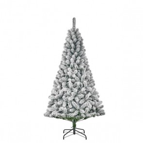 Black Box Trees Millington kunstkerstboom groen frosted TIPS 600 - h215xd119cm