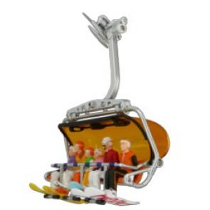 Jägerndorfer Figuren Zittend Snowboard - 6St