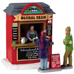 Lemax Global Bean Coffee Kiosk