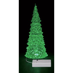 Lemax Crystal Lighted Tree, 3 Color Changeable, Large