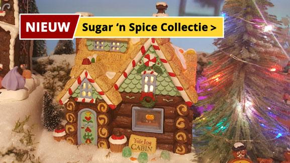 Lemax Sugar 'n Spice collectie nieuw