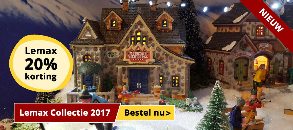 Nieuwe Lemax Collectie 2017 - Bestel nu!