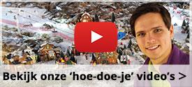 Bekijk onze 'hoe doe je' video's
