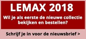 Lemax 2018 - schrijf je in voor de nieuwsbrief