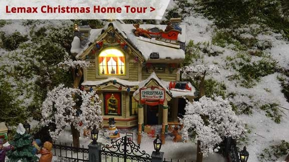 Lemax Christmas Home Tour