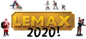 Nieuwe Lemax 2020 collectie